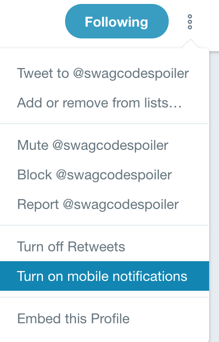 Notifications Swag Codes Spoiler